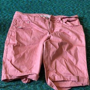 Pink shorts!!